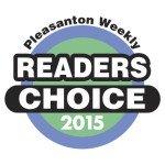 Pleasanton Readers Choice Award 2015