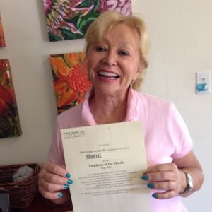Thank You Sheryl! Caregiver of the Month, May 2014 Hired Hands Homecare Napa